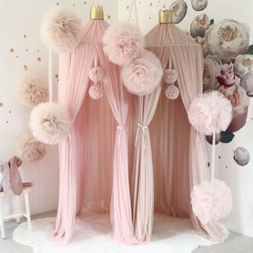 Girlanda Pom Light Pink